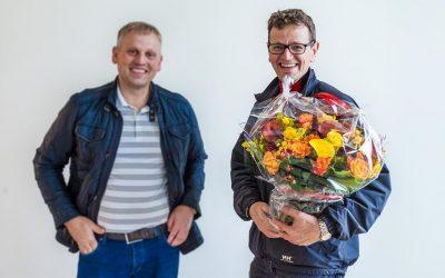 Vi gratulerer Johnny med splitter ny enebolig i rekke på Skålvik