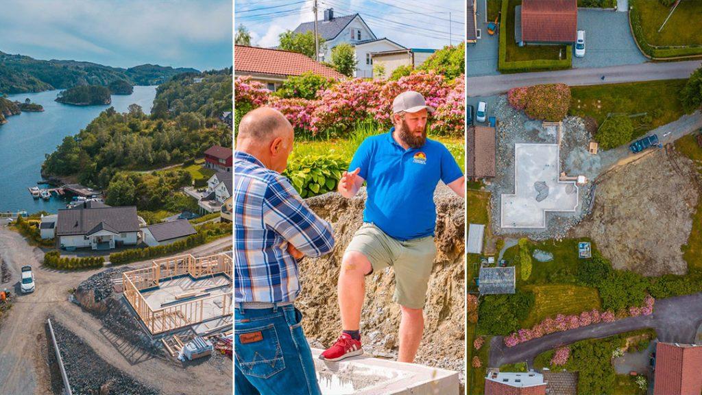 Byggeprosjekter BRV - Sommeroppdatering 2019 - bildekolasj