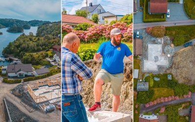 Her jobber vi nå – uke 27: Se bilder fra 10 av våre 20+ pågående byggeprosjekter på Sotra, Askøy, Bergen og omegn