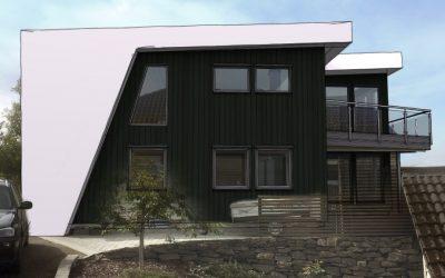 Ukens skisse – uke 35: Nytt takløft og modernisert bolig i Bergen