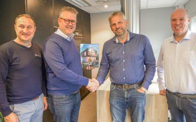 Tradisjonsrikt byggefirma på Sotra blir Blink Hus forhandler: – En tillitserklæring sier salgs- og markedssjefen