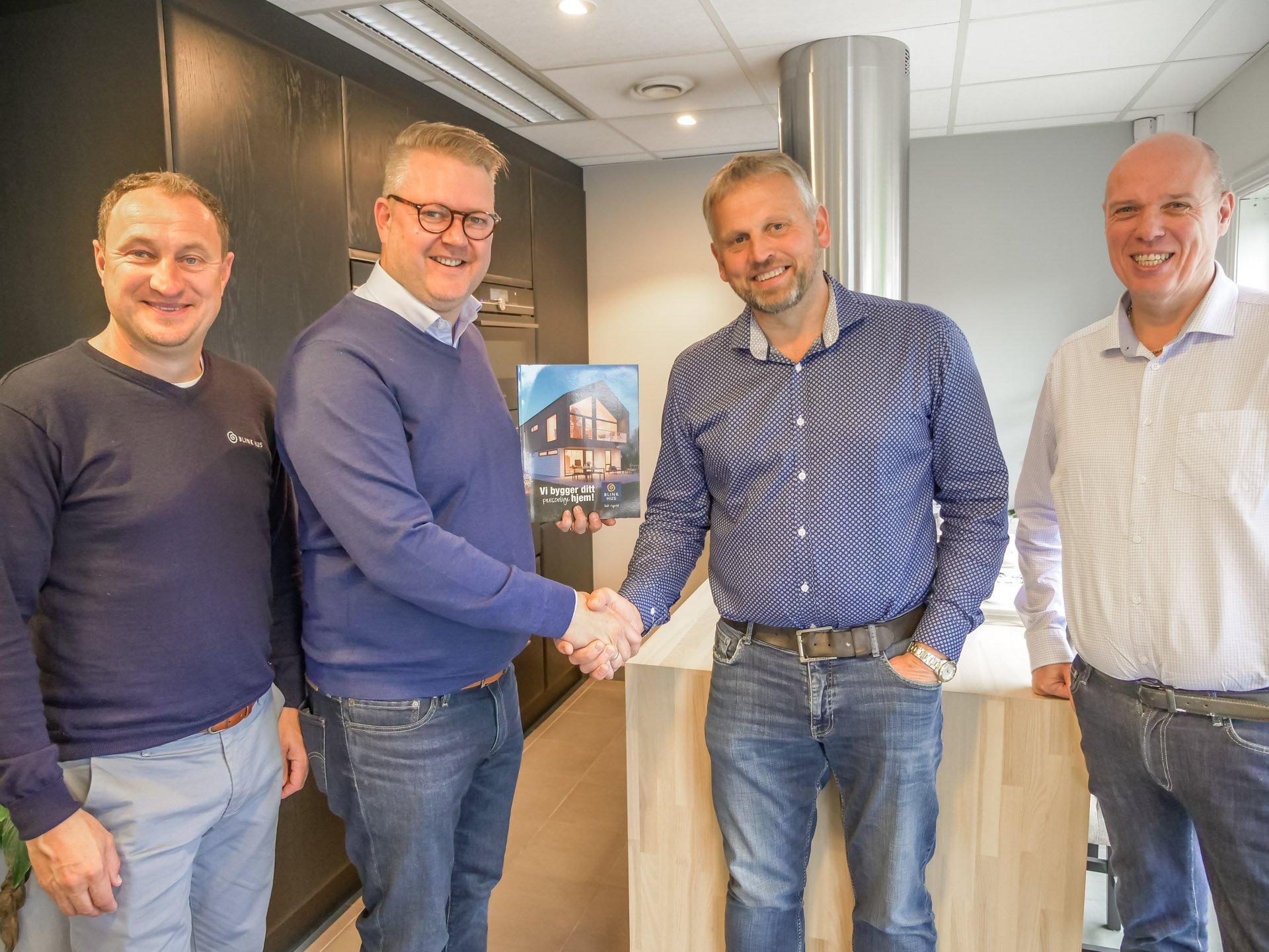Byggmester Vallestad blir Blink Hus forhandler