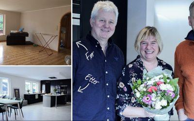 Oppussing kjøkken: Slik fikk Lisbeth og Truls nytt liv i eneboligen sin på Bildøy