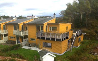 Ukens skisse – uke 41: Utvidelse av rekkehus i Bergen