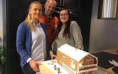 Byggmester Reidar Vallestad`s Pepperkakehus konkurranse 2019 er i gang i år igjen!