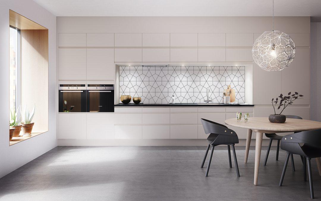 Kjøkkenkampanje i hele desember: Få 30% på et komplett Marbodal kjøkken inkludert avansert Siemens stekeovn på kjøpet